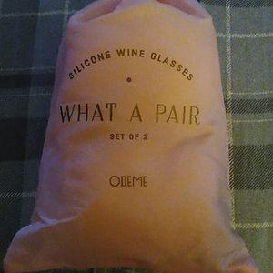 Odeme silicone wine glasses